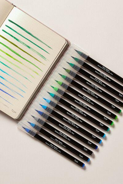 Watercolour Brush Pen Expansion Pk, AMAZON RAINFOREST