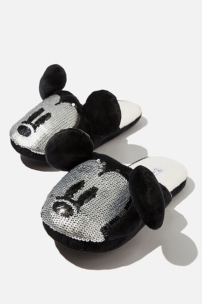 Slippers, LCN MICKEY SEQUIN