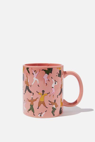 Anytime Mug, DANCING PEOPLE
