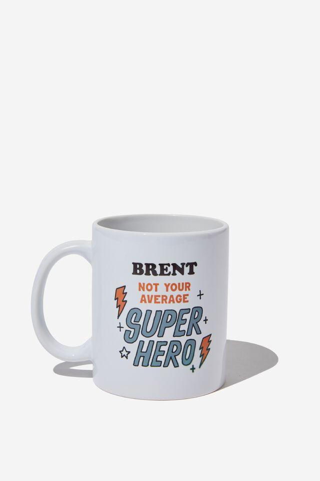 Personalised Mug, SUPER HERO