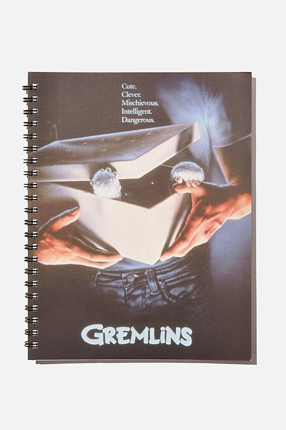 A4 Gremlins Campus Notebook Recycled, LCN GREMLINS WB