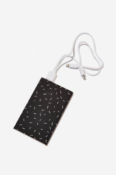 Printed Charge It Charger, PRICKLES