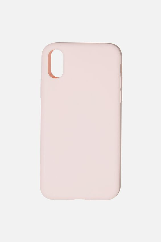 Recycled Phone Case iPhone X, Xs, PALE PINK