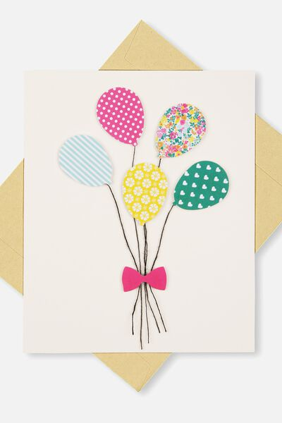 Birthday cards happy birthday cards cotton on embellishment card bl balloons bookmarktalkfo Choice Image