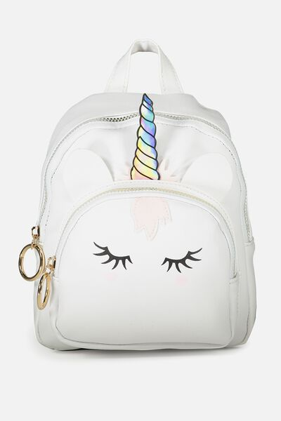 Mini Madrid Backpack Novelty Unicorn Typo