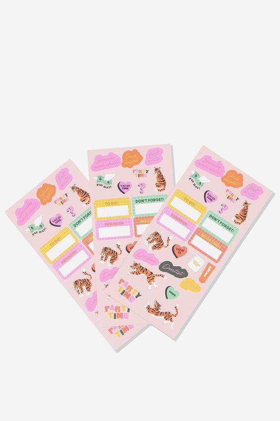 Sticker Pack, BRIGHT & FUN