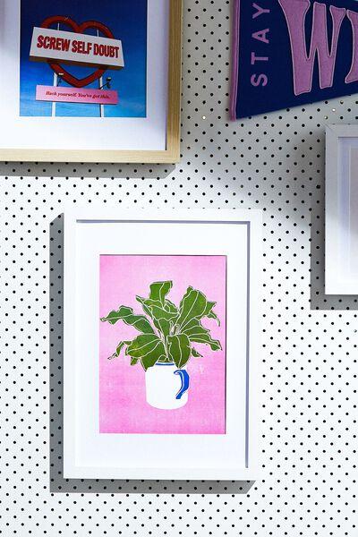 A4 Framed Print, PLANT LIFE
