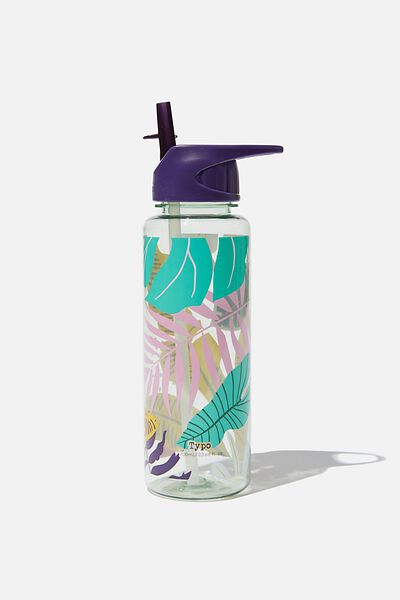 Hydrator Drink Bottle, GIRLIE PALM PRINT
