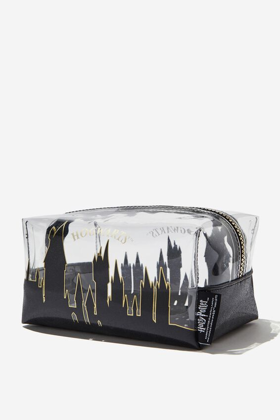 Made Up Cosmetic Bag, LCN WB HPO HOGWARTS SKYLINE