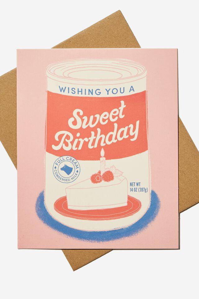 Nice Birthday Card, RG ASIA SWEET BIRTHDAY CAKE