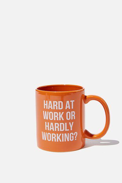 Anytime Mug, HARD AT WORK
