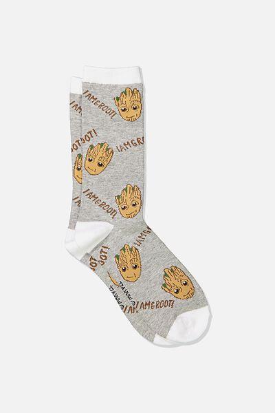 Mens Novelty Socks, LCN MAR GG GROOT