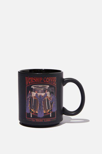 Steven Rhodes X Typo Mug, LCN STE WORSHIP COFFEE