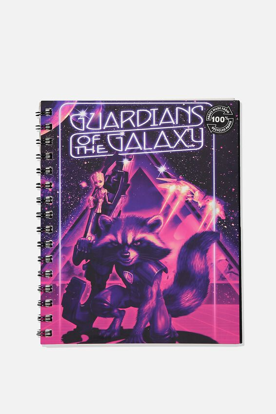 A5 Campus Notebook Recycled, LCN MAR GG GUARDIANS OF THE GALAXY