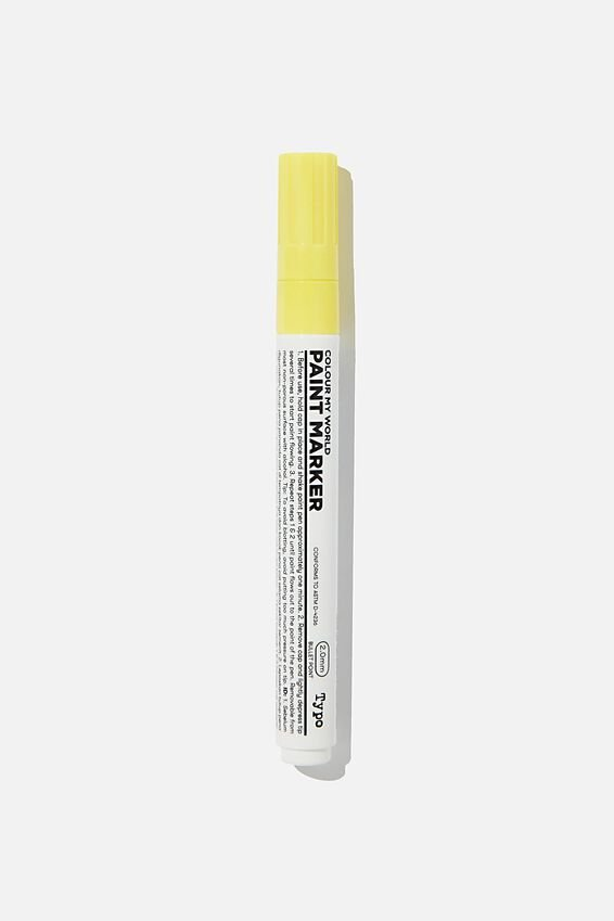 Colour My World Paint Marker, YELLOW