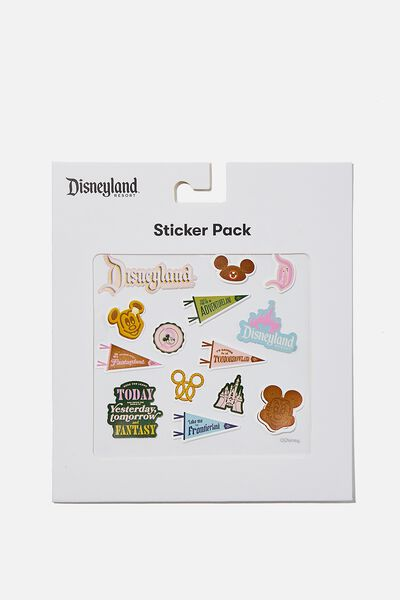 Licensed Sticker Pack, LCN DIS DISNEYLAND