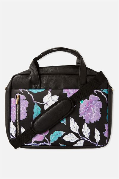 "Take Charge Laptop Bag 15"", LUSH FLORAL"