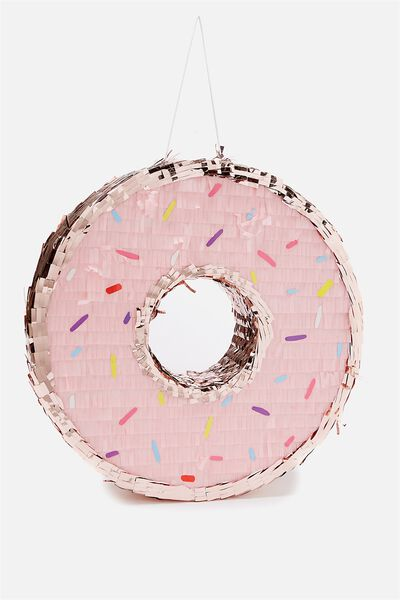 Shaped Pinata, PASTEL DONUT