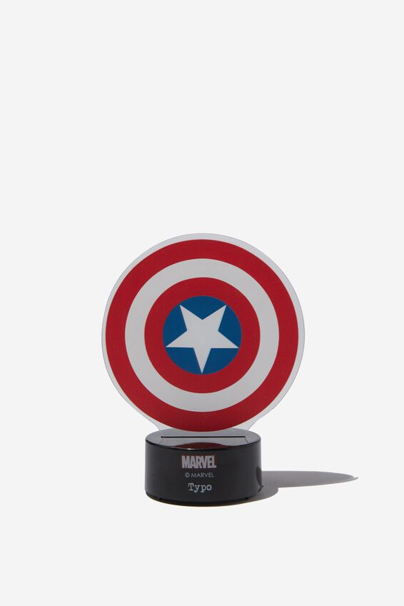 Marvel Mini Acrylic Light, LCN MAR CAPT AMERICA