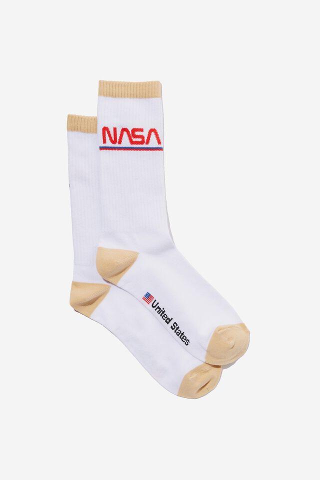 NASA Socks, LCN NAS NASA TUBE