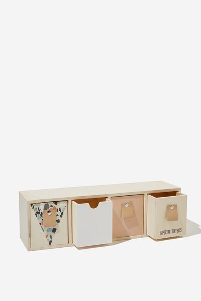 Quick Desk Drawer Storage, TERRAZZO IMPORTANT BITS