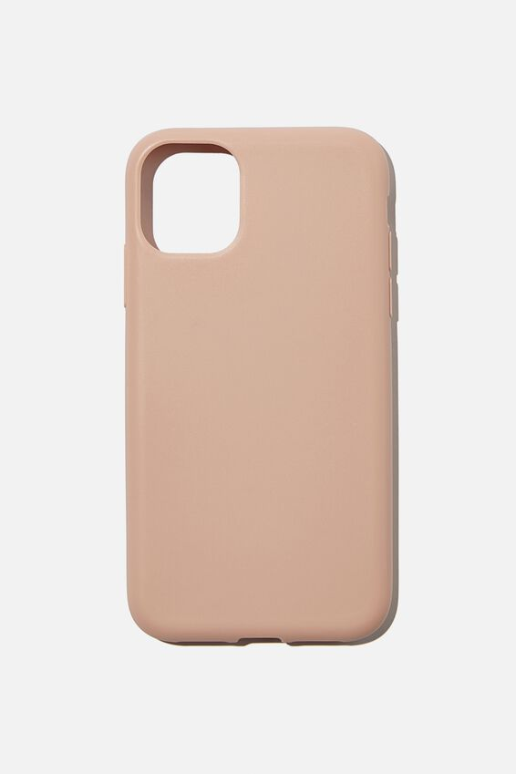 Slimline Recycled Phone Case Iphone 11, NUDE PINK