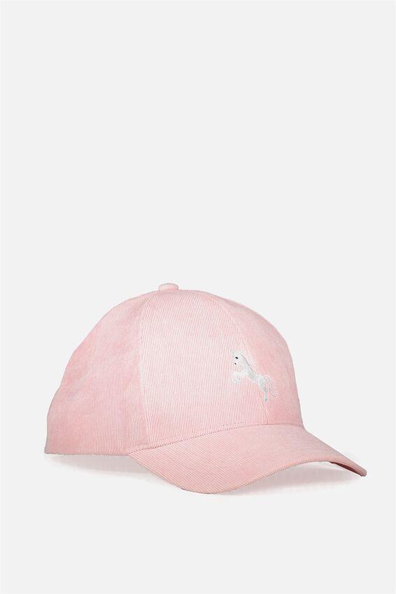 Novelty Caps, PINK UNICORN
