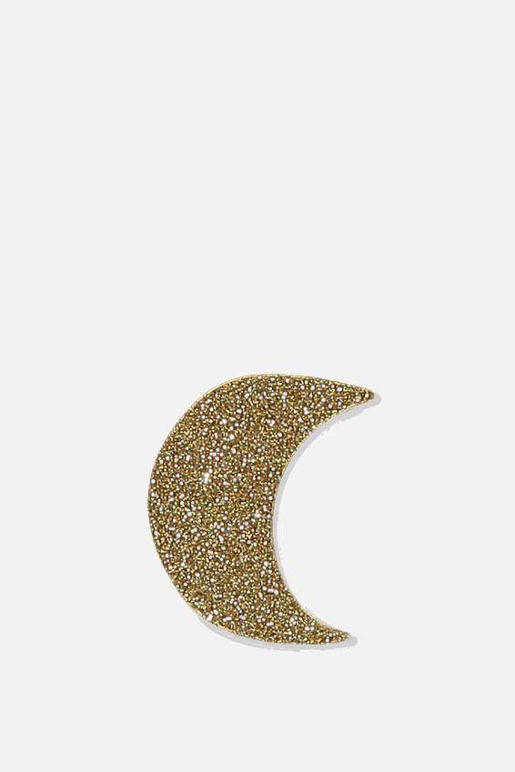 Enamel Stickers, GOLD MOON