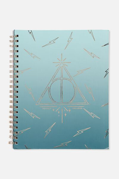 A4 Campus Notebook, LCN HP DEATHLY HALLOWS