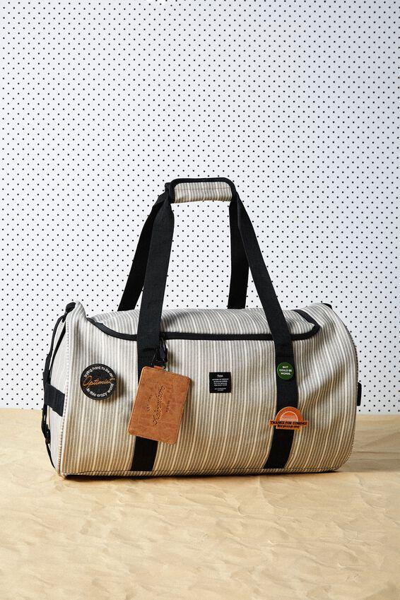 Explorer Duffle Bag, BRAD STRIPE