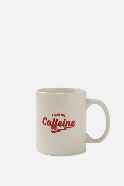 Anytime Mug, CAFFEINE