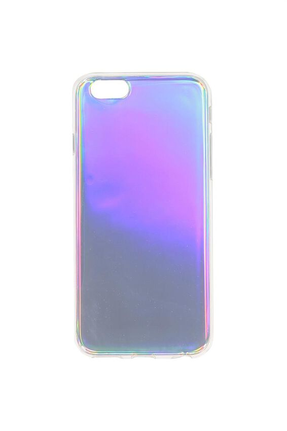 Printed Phone Cover 6, SOLID IRIDESCENT