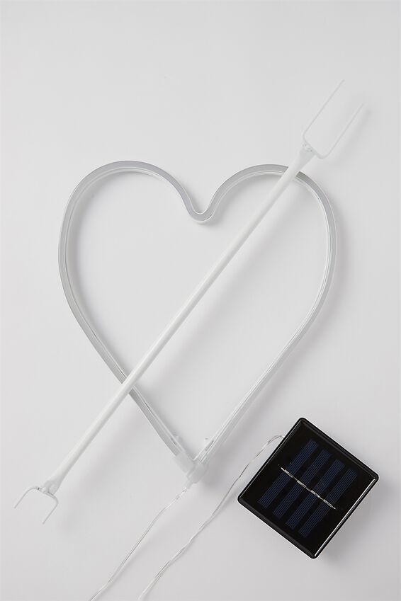 Solar Stake Light, HEART
