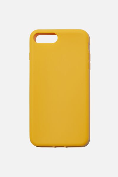 Recycled Phone Case iPhone 6,7,8 Plus, MUSTARD