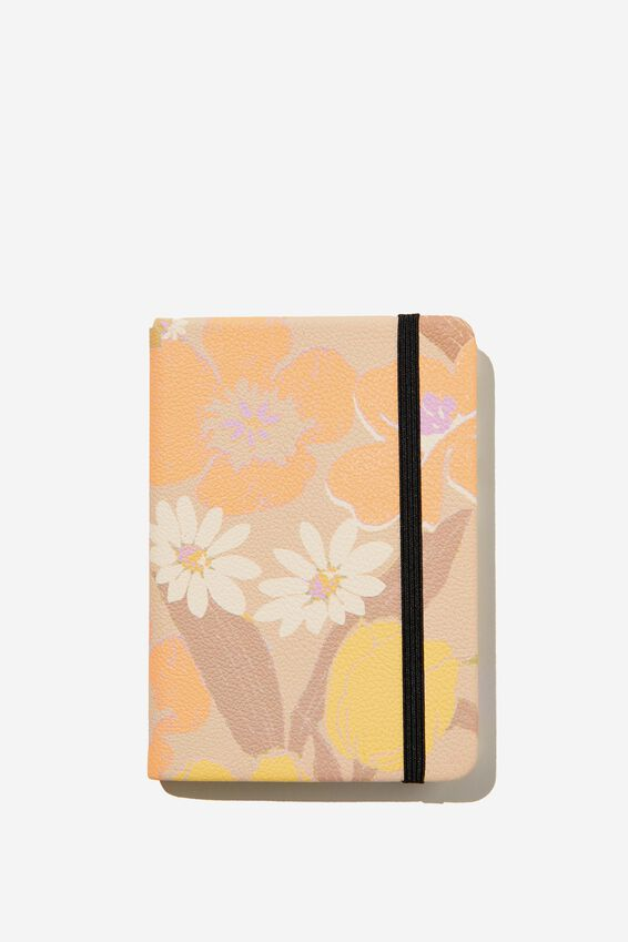 A6 Buffalo Journal, SAND GOLDIE FLORAL