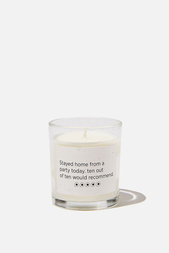 Talk To Me Candle Small, STAYING HOME