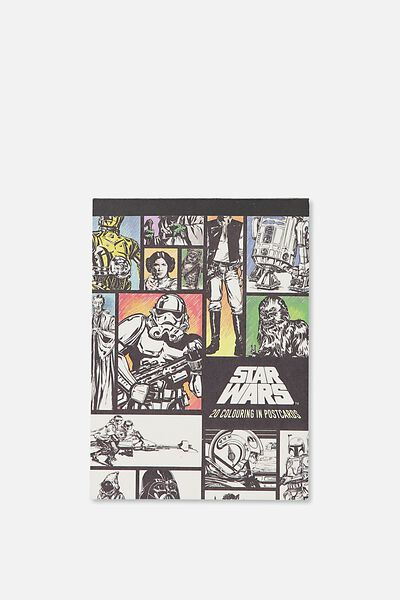 Post Card Colouring Book, LCN STAR WARS 17