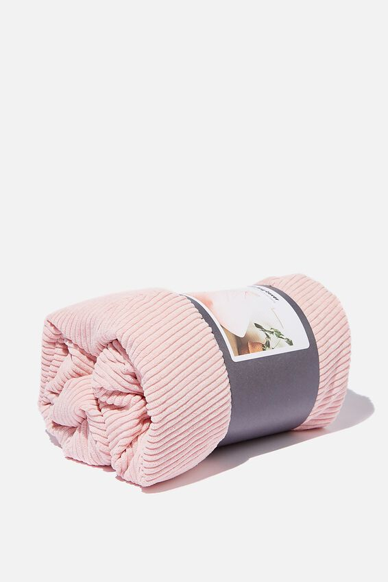 Bean Bag Cover, NUDE PINK CORD