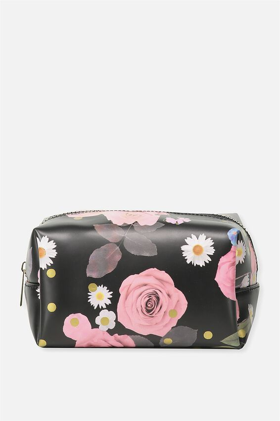 Made Up Cosmetic Bag, POLKA FLORAL
