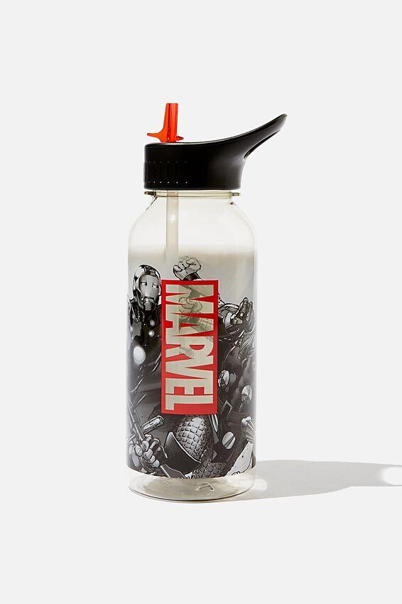Marvel Drink It Up Bottle, LCN MARVEL GREYSCALE AVENGERS