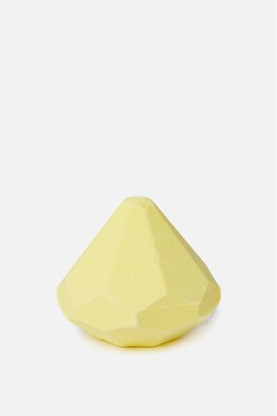 Bath Fizzer, YELLOW DIAMOND