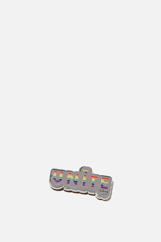 Disney Metal Sticker, LCN DIS PD UNITE