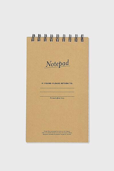Flipout Notepad Recycled, NOTEPAD CRAFT