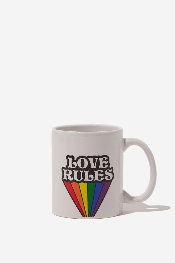 Anytime Mug, RAINBOW LOVE RULES