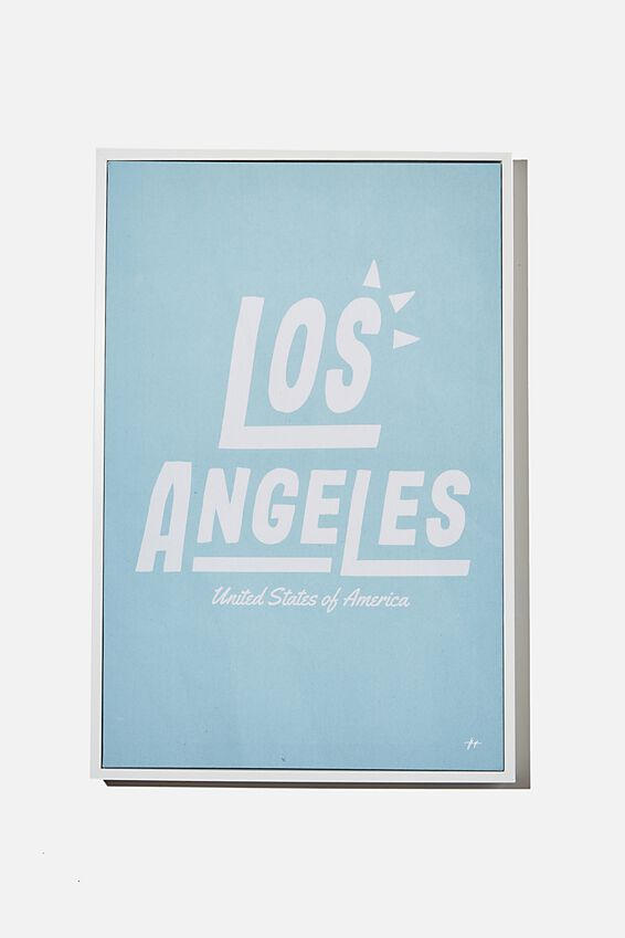 40 X 60 Canvas Art, LOS ANGELES