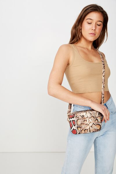 City X-Body Bag, MULTI SNAKE