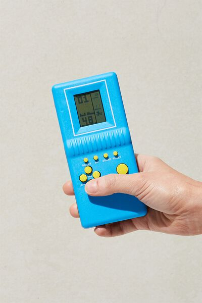 Nostalgic Block Gamer, BLUE