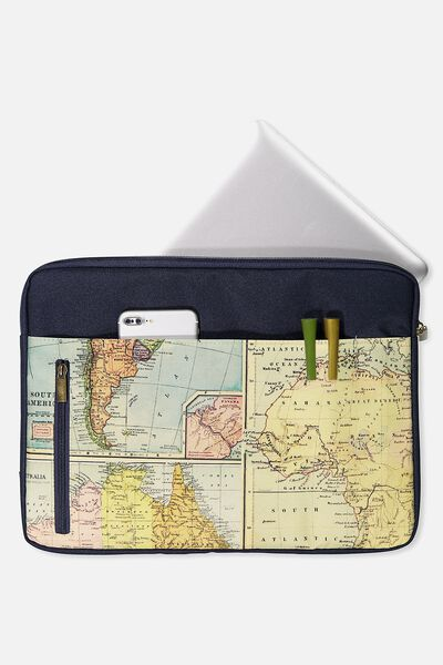"Take Charge Laptop Cover 15"", MAP QUEST"
