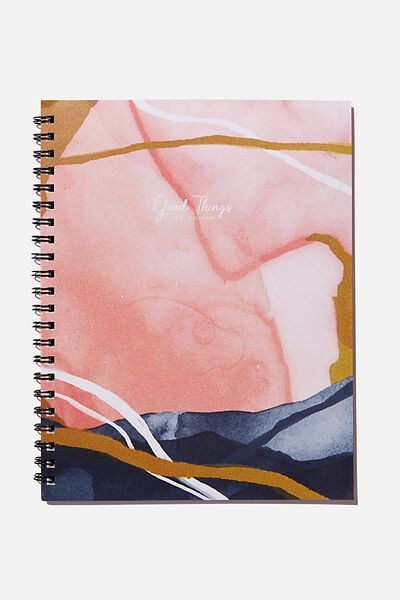 A4 Campus Notebook Recycled, GOOD THINGS
