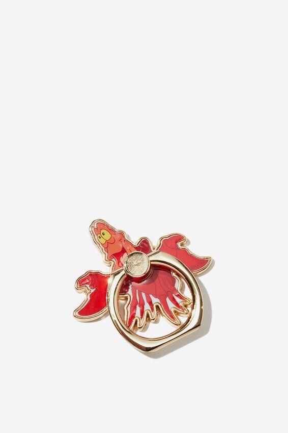 Disney Metal Phone Ring, LCN DIS SEBASTIAN